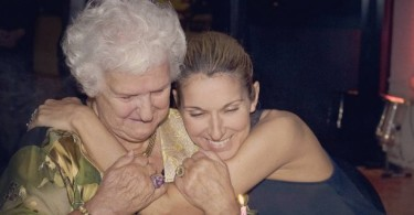 Celine Dion si Mama Sa Therese - Sursa Foto Stiri Mondene EU